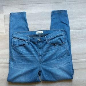 Madewell  Roadtripper crop jeans
